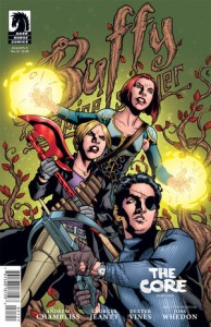 The Scoobies reunite  – a review of Buffy Season 9 #21 The Core part 1